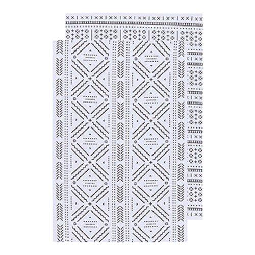 Ensemble de linges à motifs aztèques