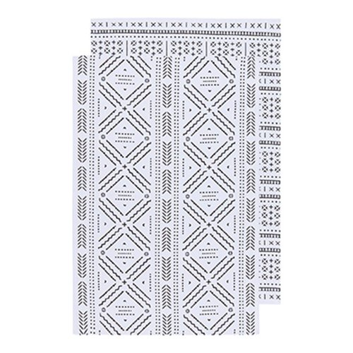 Set of Aztec Print Tea Towels