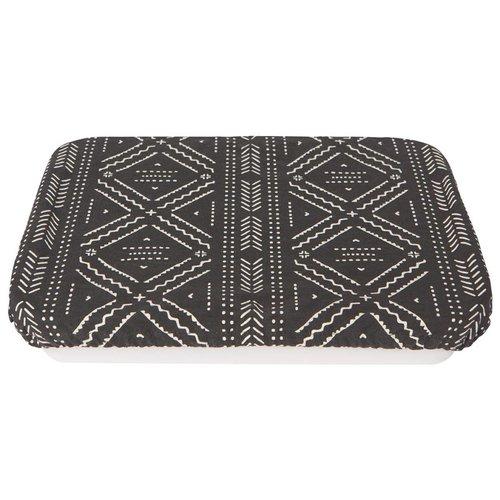 Reusable Black Cloth Dish Cover