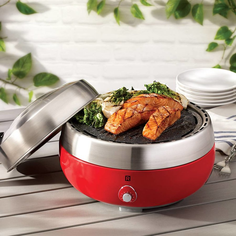 Nouveau barbecue portable RICARDO avec grille The Rock - Photo 4