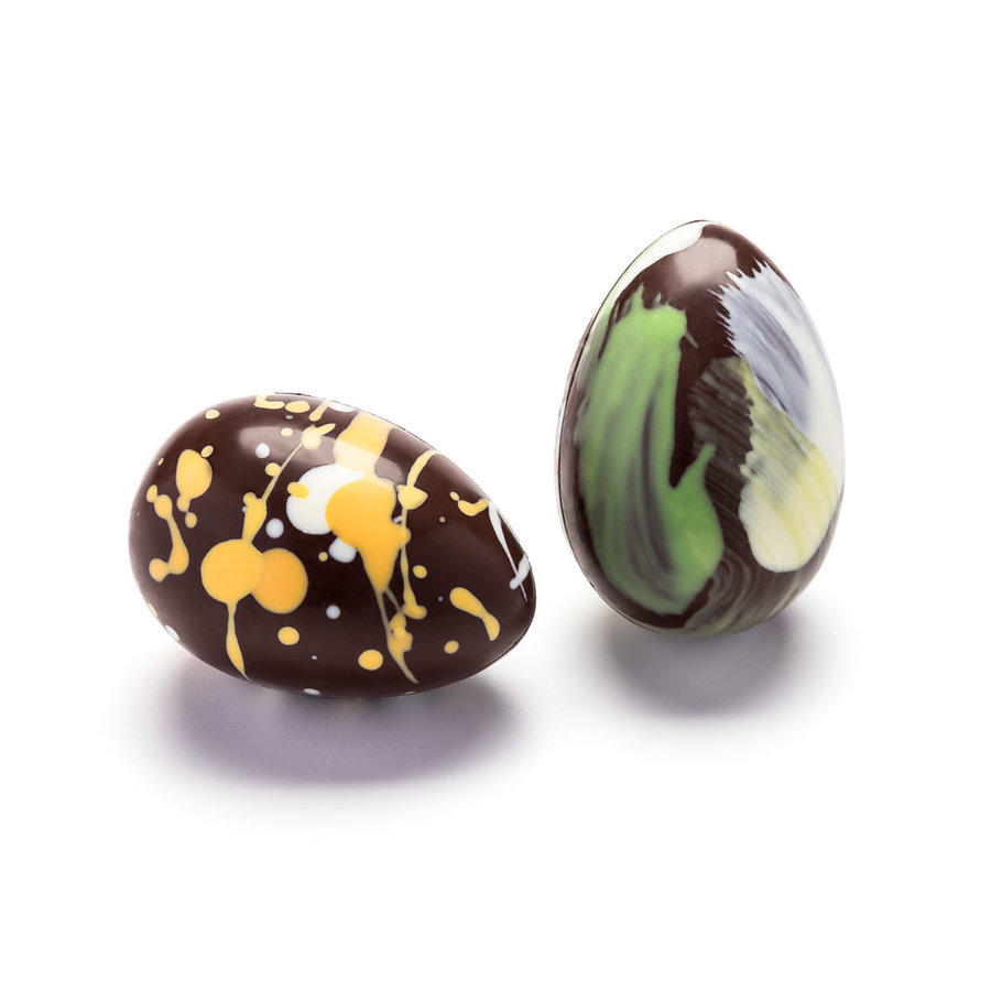 Mixed Colours Dark Chocolate Easter Eggs, 60 g - Photo 0