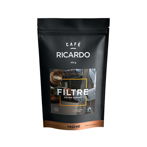 Bag of RICARDO Ground Filter Coffee, 454 g