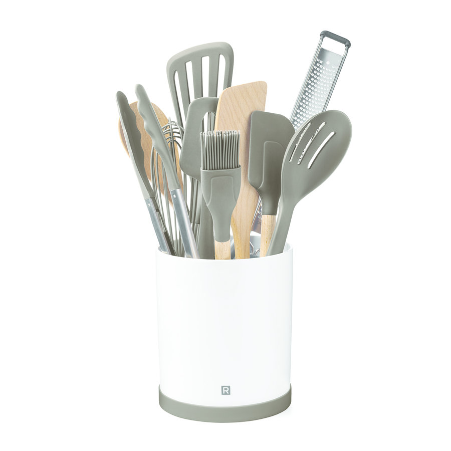Rotating Porcelain Utensil Holder - Photo 0