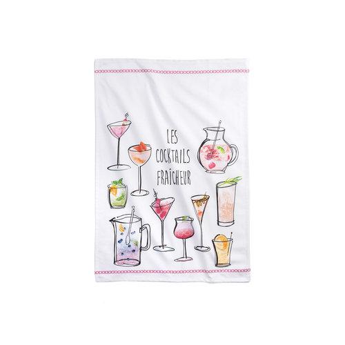 Linge «Cocktails fraîcheur»