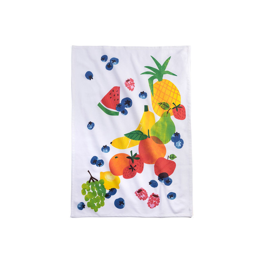 Fruit Salad Tea Towel - Photo 0