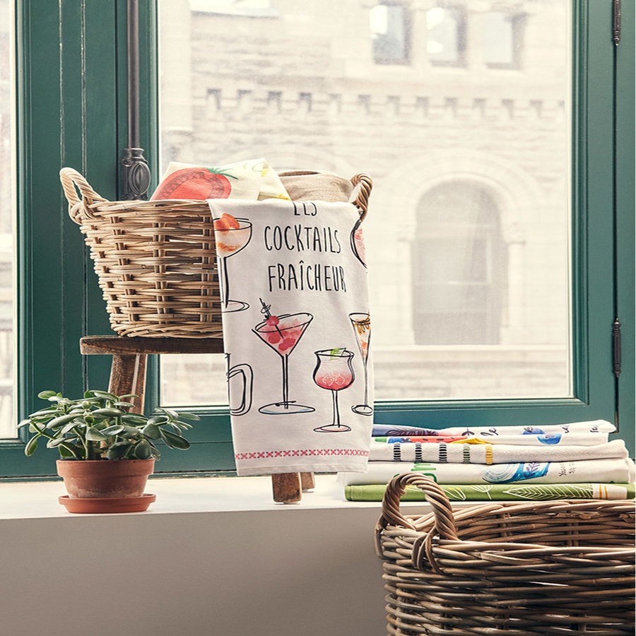 <i>Les Cocktail Fraîcheur</i> Tea Towel - Photo 1