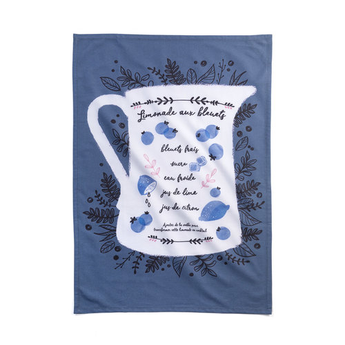Blueberry Lemonade Tea Towel