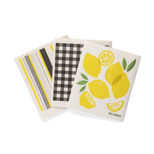 Lemon Burst Fantastic Dishcloths