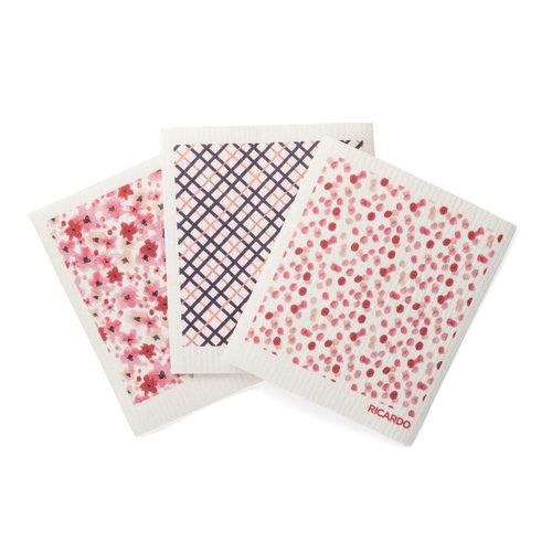 Pink Confetti Fantastic Dishcloths