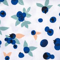 Serviettes de table «Explosion de bleuets»