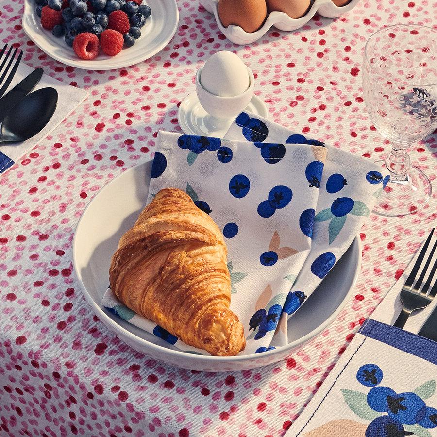Serviettes de table «Explosion de bleuets» - Photo 2