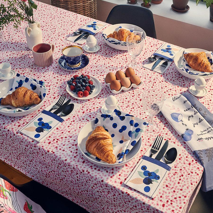 Serviettes de table «Explosion de bleuets» - Photo 3