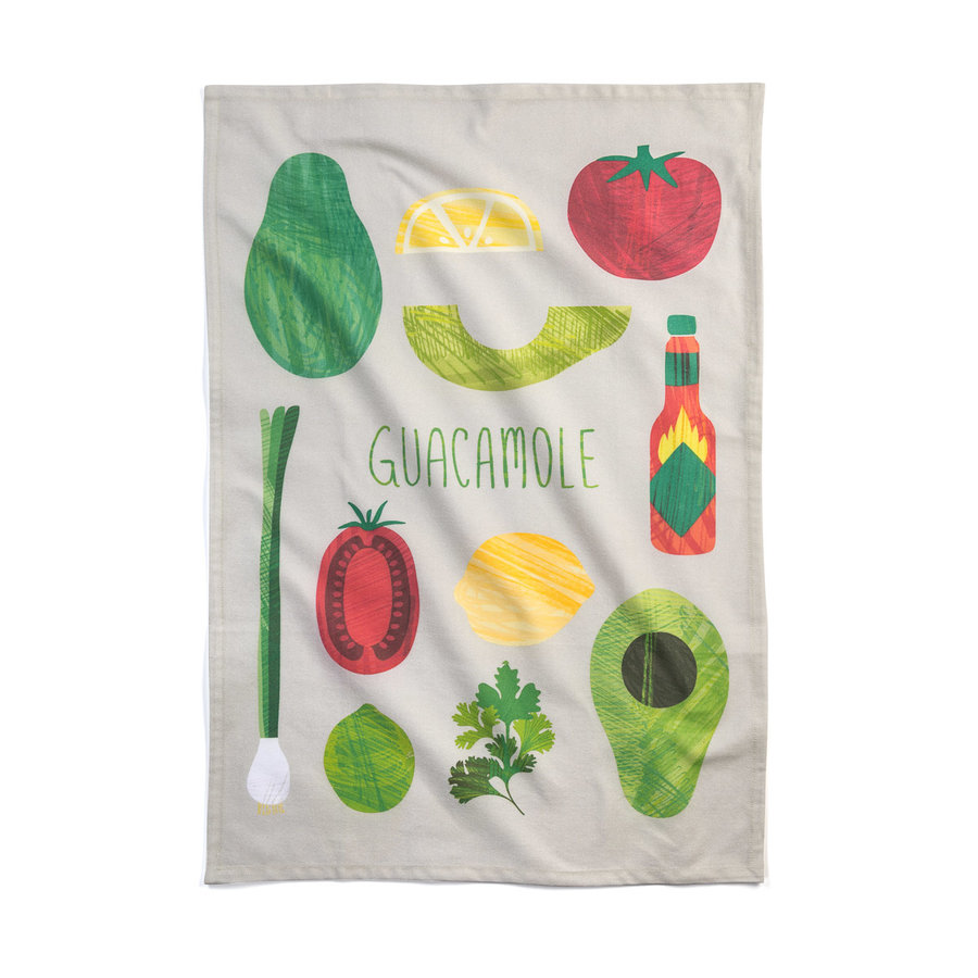 Guacamole Tea Towel - Photo 0