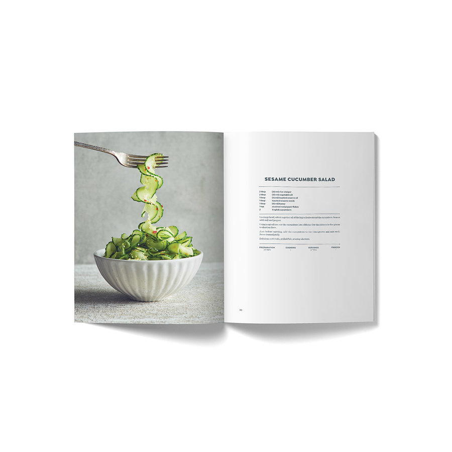 <i>Vegetables First</i> Book (English version) - Photo 2