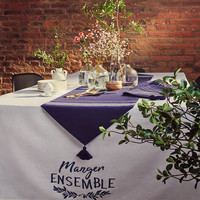 <i>Manger ensemble</i> Tablecloth
