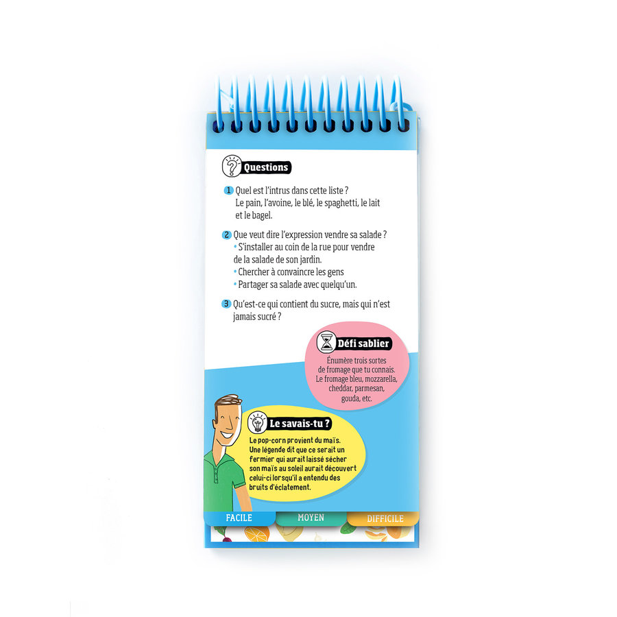 <i>Le quiz des aliments</i> Book for Kids (French Version) - Photo 1