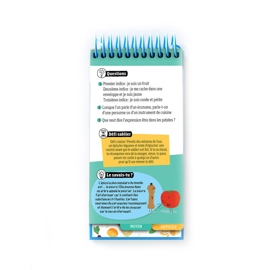 <i>Le quiz des aliments</i> Book for Kids (French Version) - Photo 2