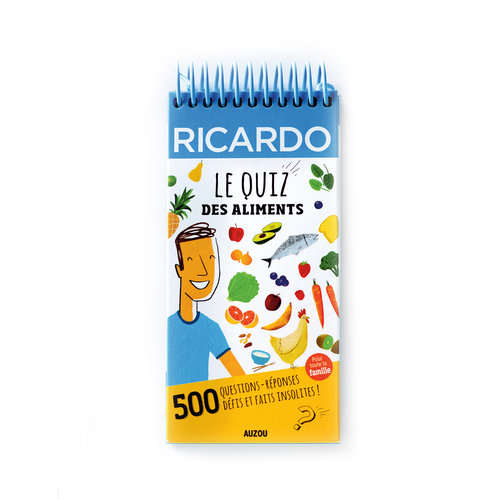 <i>Le quiz des aliments</i> Book for Kids (French Version)