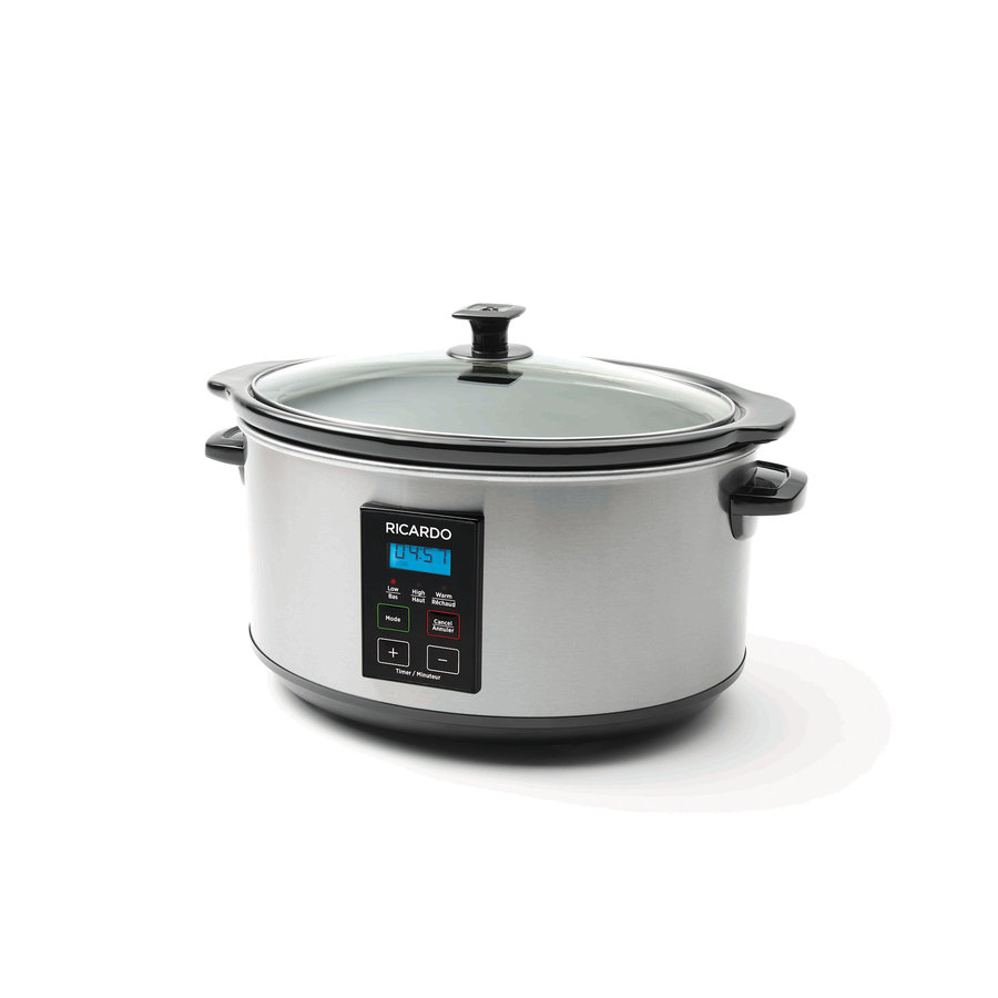 RICARDO Digital Slow Cooker, 6 qt (5.4 L) - Photo 0