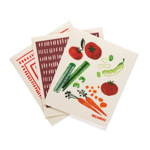 Linges fantastiques «Légumes d'automne»