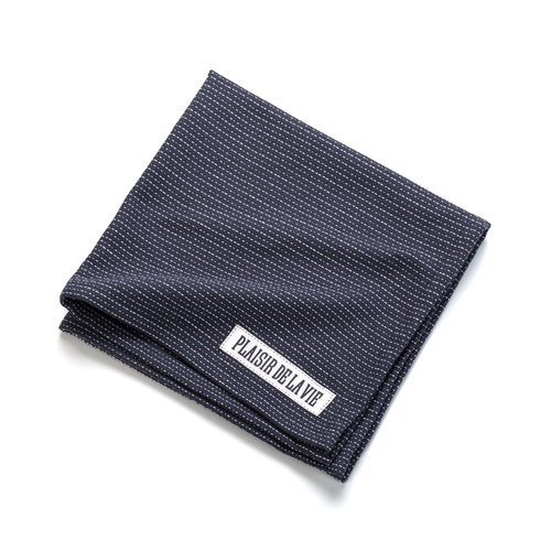 <i>Plaisir de la Vie</i> Blue Denim-Look Napkins