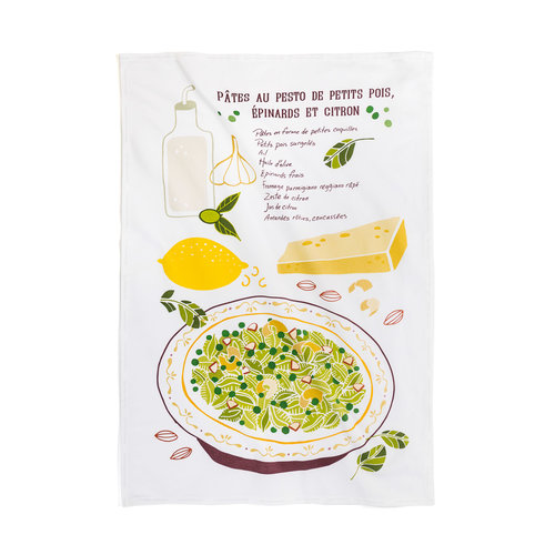 Pesto Pasta Tea Towel