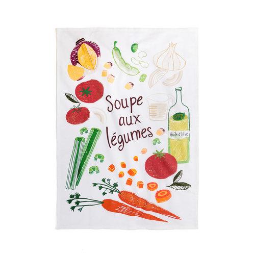 <i>Soupe aux Légumes</i> Tea Towel