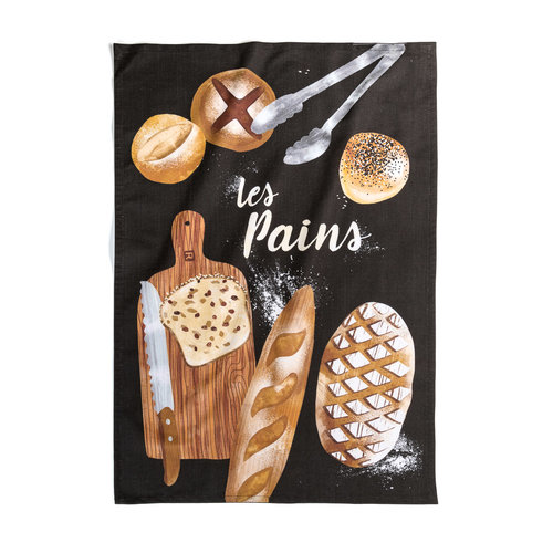<i>Les Pains Maison</i> Tea Towel