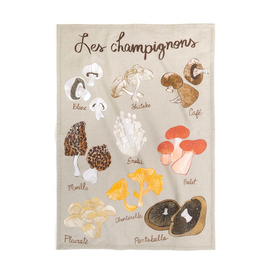 <i>Les Champignons</i> Tea Towel - Photo 0