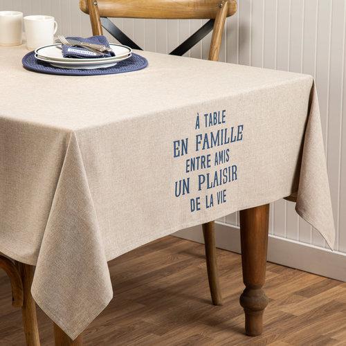 Plaisir de la vie Solid Tablecloth