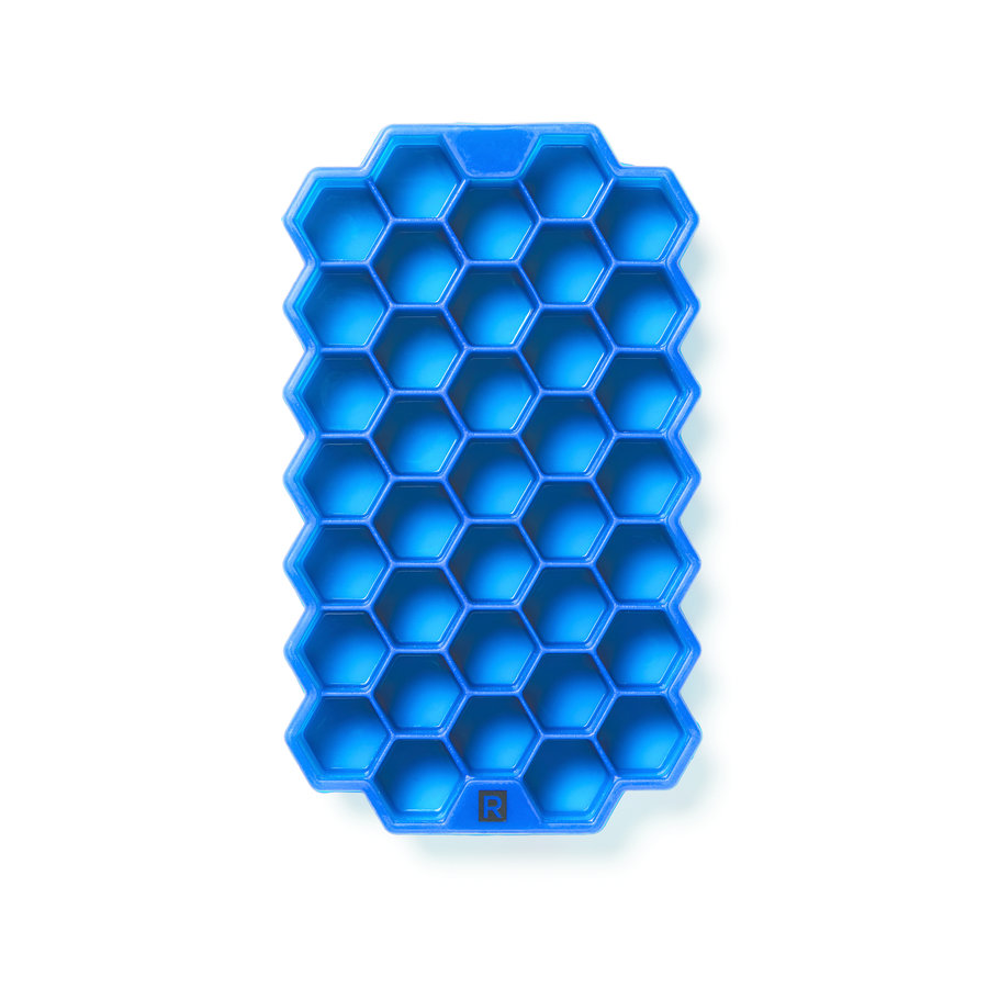 Silicone Hexagonal Ice Cube Mould - Photo 0