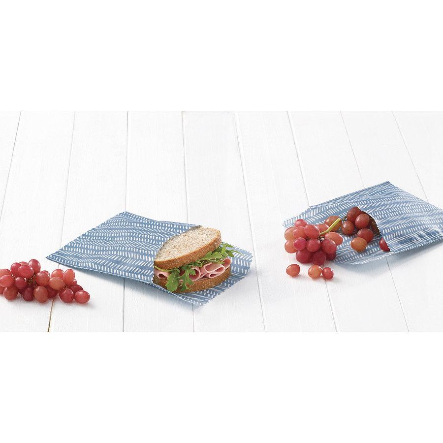 Ensemble de sacs réutilisables pour sandwich (2 pièces) - Photo 1