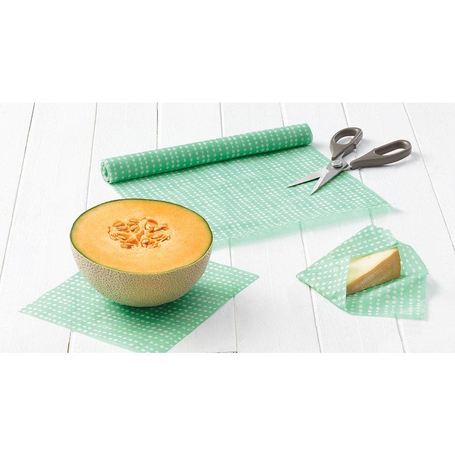 Rouleau d'emballage alimentaire réutilisable - Photo 1