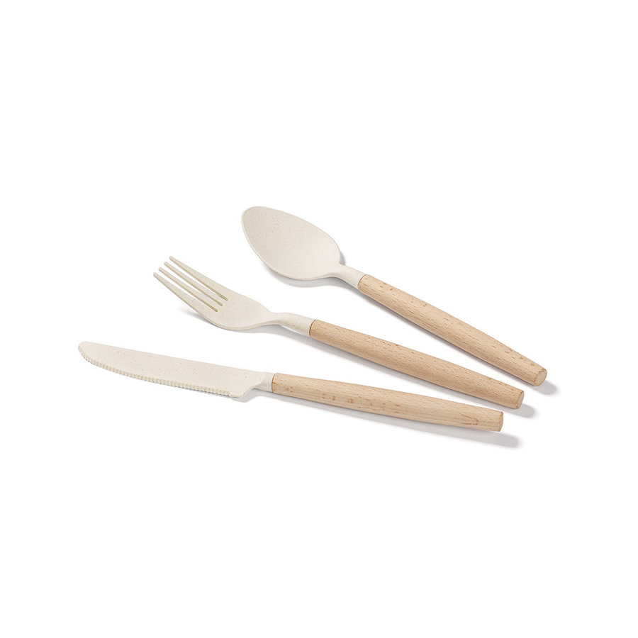 Set of Biodegradable Utensils (3 pieces) - Photo 0