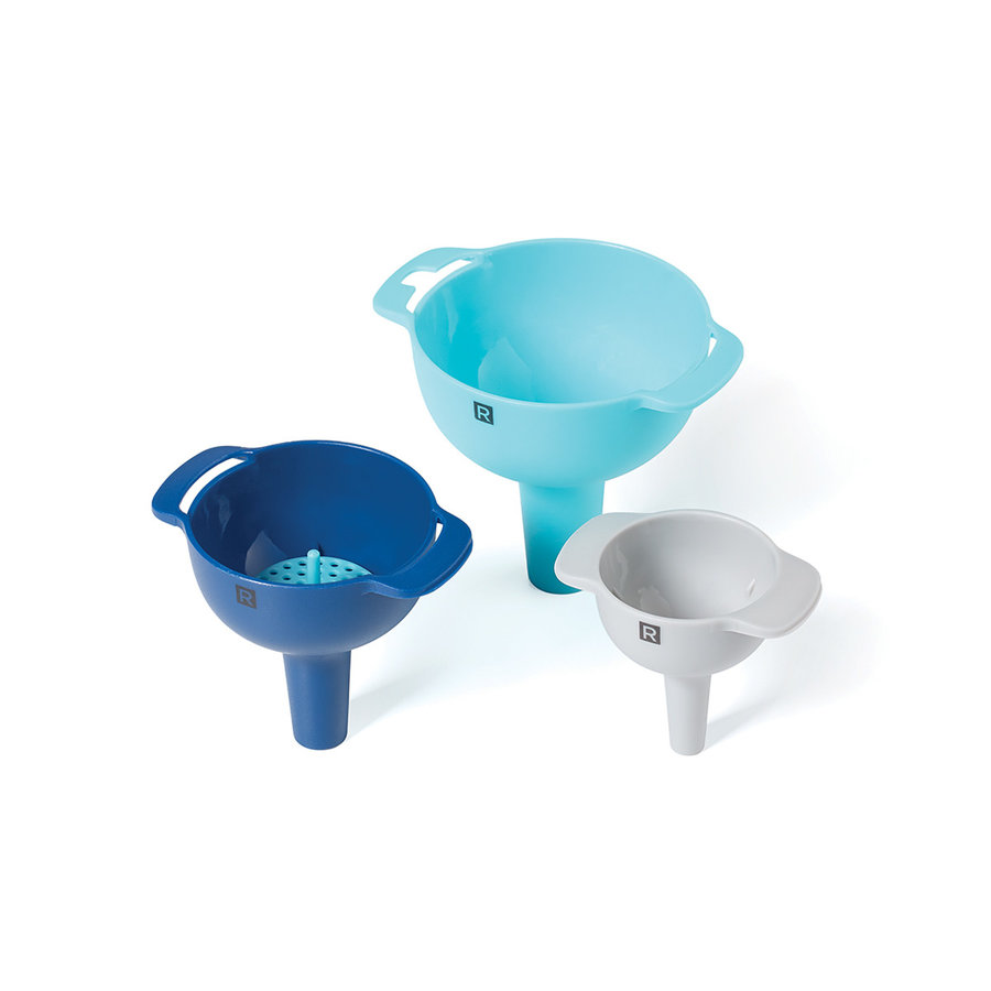 Funnel Set with Sieve (4 pieces) - Photo 0