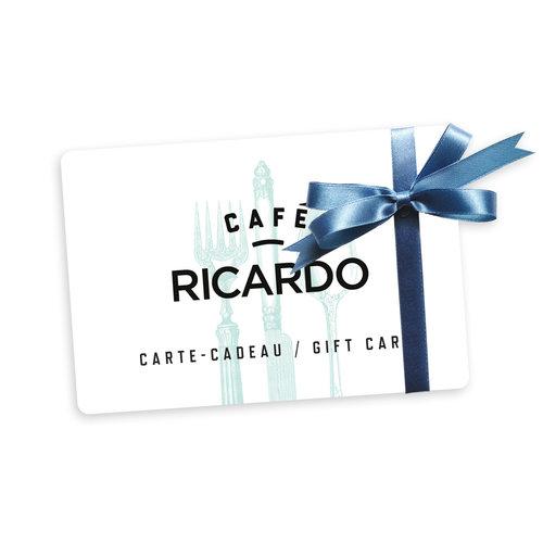 Café RICARDO Carte-cadeau - 25$