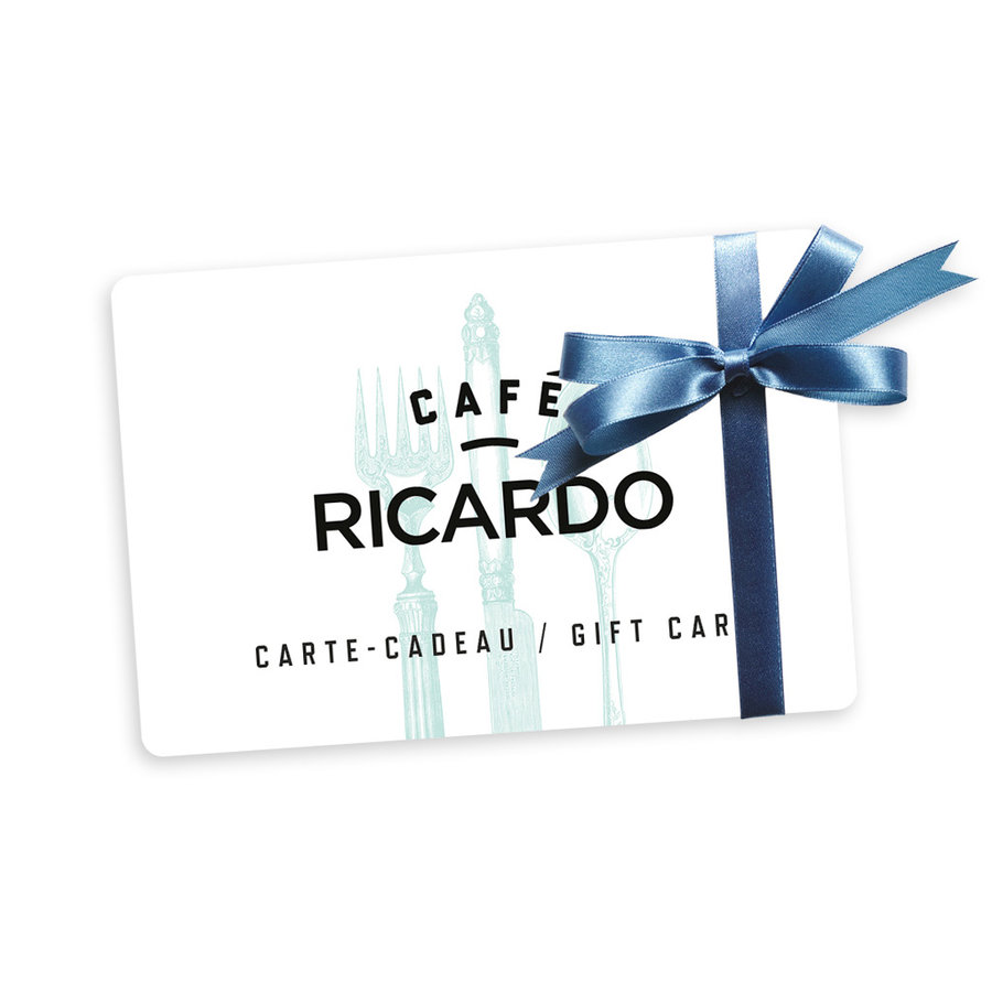 Carte-cadeau Café RICARDO - 25$ - Photo 0