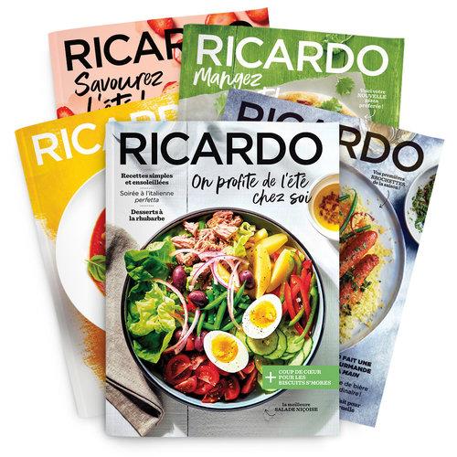 Abonnement 1 an (8 numéros) Magazine RICARDO