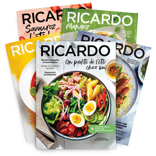 Abonnement 2 ans (16 numéros) Magazine RICARDO