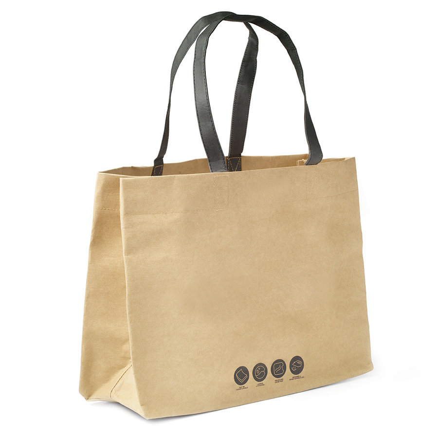 Reusable and Washable Shopping Bag Made of Recycled Paper - Photo 1