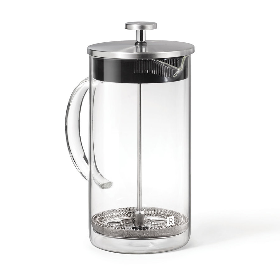 Cafetière à piston en verre 1L - Photo 0
