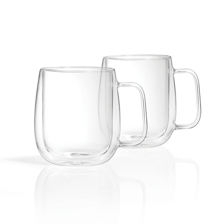 Double-Walled Mugs (Set of 2) - Photo 0