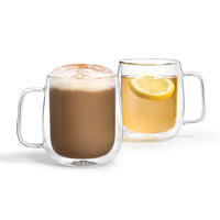 Double-Walled Mugs (Set of 2)
