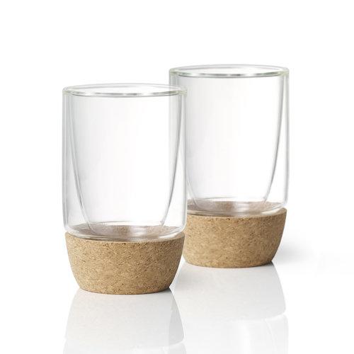 Ensemble de verres à parois doubles