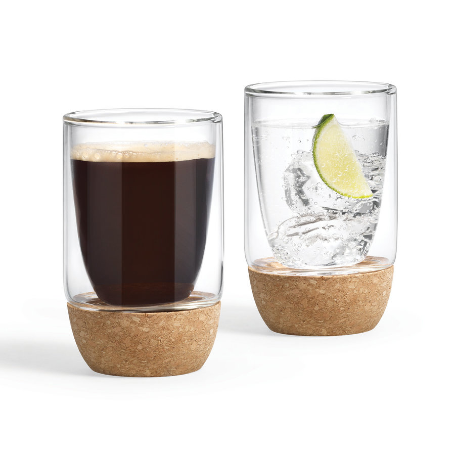 Double-Walled Glasses (Set of 2) - Photo 1