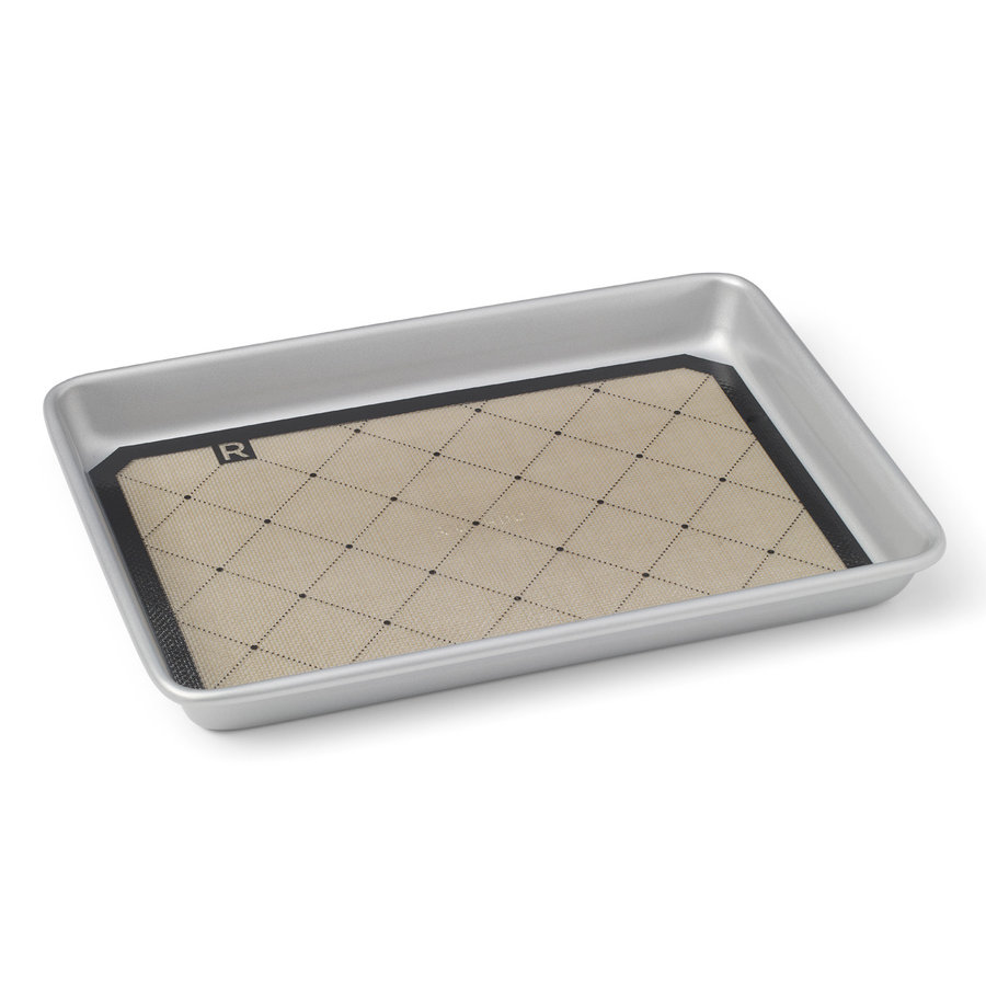 "Small Silicone Baking Mat, 11.5"" x 8"" - Photo 1"