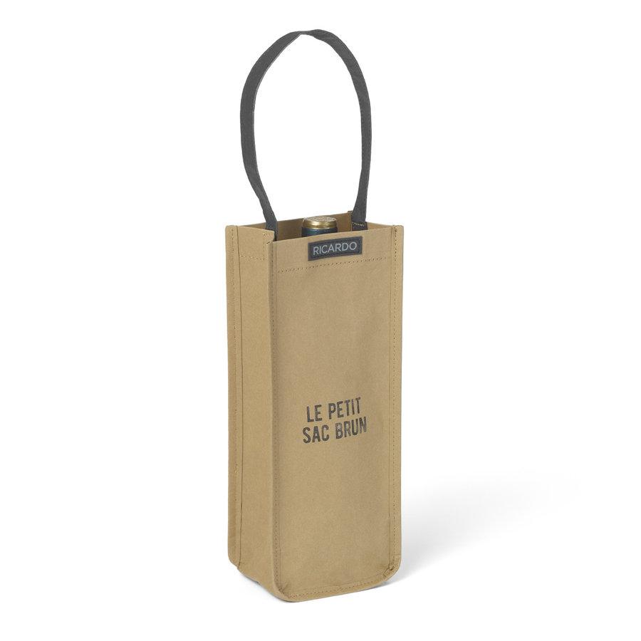 Washable Paper Wine Bag, Single - Photo 0