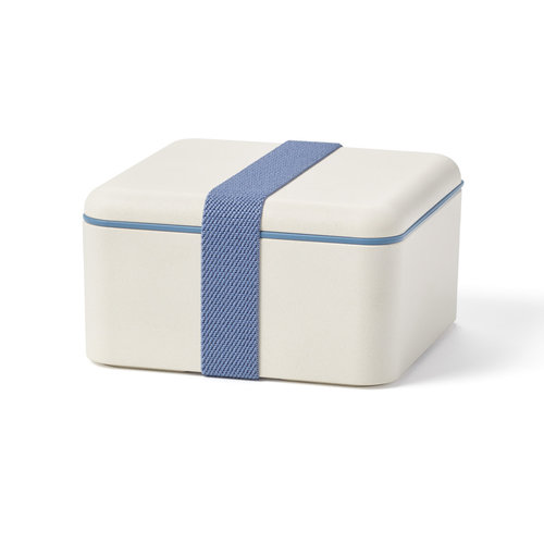 Biodegradable Square Lunch Box, 800 ml