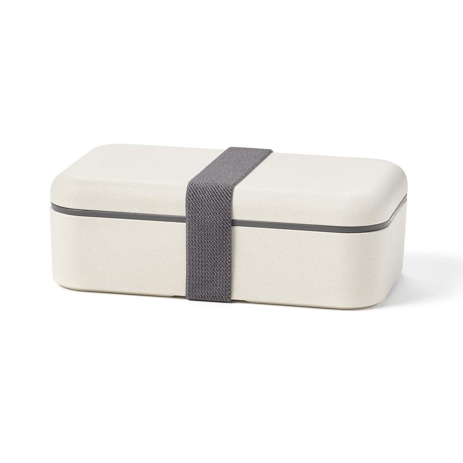 Boîte à lunch biodégradable rectangulaire 600 ml - Photo 0