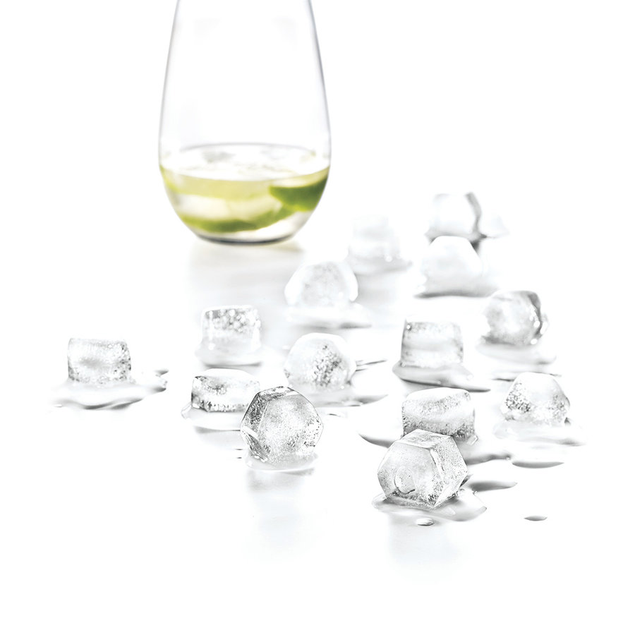 Moule à glaçons hexagonaux en silicone - Photo 1